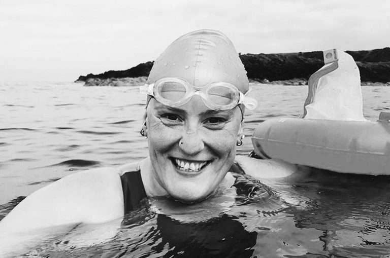 Ashleigh Seymour Channel Swimmer